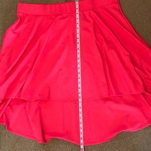 Torrid Hi-low A-line skirt